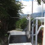 Treppenlift Aussenbereich Wallis