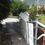 Treppenlift Aussenbereich